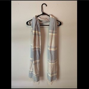 Light Blue/Grey Scarf - 65""